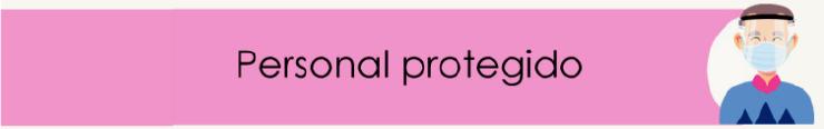 Personal protegido